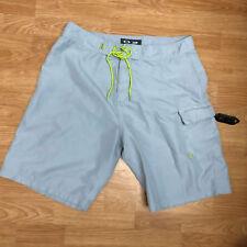 Oakley UOMO Grigio Nylon Pantaloncini da Surf Boxer Size 38 B00-10