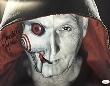 Tobin Bell Saw (Billy the Puppet) Signed 11x14 Photo JSA N35222