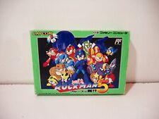 Rockman 5 Mega Man Nintendo Famicom FC Jap NTSC