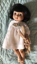 Boneka White smocked Dress For Bleuette Or Ann Estelle doll