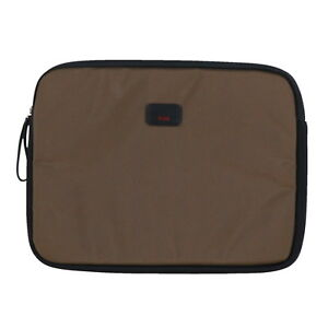 Tumi Medium Laptop Cover Computer Case Carry Travel Bag 15 in Pouch Logo New Nwt