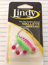 "LINDY, WALLEYE DRIFT RIG, The Old Guide's Secret, 36"" HAND TIED SPINNER, GS310"