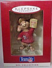 Hallmark Ornament 1996 NFL SAN FRANCISCO 49ERS Mouse We're #1 Foam Finger