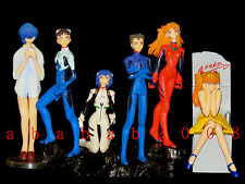 Bandai EVA Evangelion figure gashapon Part.5 (full set of 6 figures)