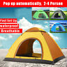 2-4 Person Instant Auto Up Camping Beach Outdoor Hiking Tent Teepee Shelter