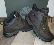 NEW TIMBERLAND Earthkeepers Mt. Maddsen Waterproof Brown Leather Hikers Boots 9