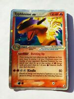 Typhlosion ex - 110/115 - Ultra-Rare Holo Unseen Forces Pokemon Card! HP