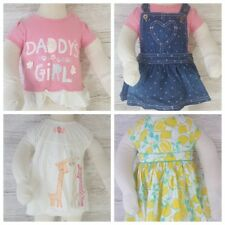 New Born - 3 Months Baby Girl Infant Tops And Dresses Bundle Nutmeg, Next, F&F