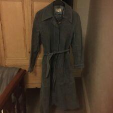 ladies leather coat size 12.