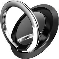 360° Finger Ring Cell Phone Holder Stand Car Metal Plate Rotating Magnetic Grip