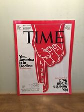 Time Magazine March 14, 2011- Yes, America Is In Decline
