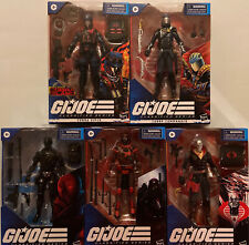 Lot Of 5 GI JOE Classified Series With TARGET EXCLUSIVE Cobra Island Viper