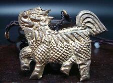 ANCIEN COLLIER PENDENTIF METAL ANIMAL LEGENDAIR FO