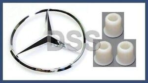 Genuine Mercedes Trunk Star Emblem Badge w/ Grommets x3 w208 w210 CLK320 CLK430