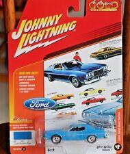 2017 JOHNNY LIGHTNING Classic Gold 1974 FORD GRAN TORINO ~~Version C~~