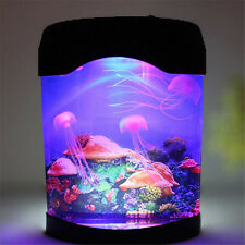 Jellyfish Tank Sea World Swimming Mood Multi-Color Lamp Night Light Colorful LED