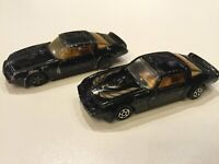 1977 Hotwheels Pontiac Firebird W/ Bandit lot of 2