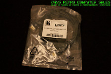 HDMI-HDMI CABLE GOLD PLATED MM KRAMER C--HM / HM / PICO / BK-10 10 FEET 3 METERS
