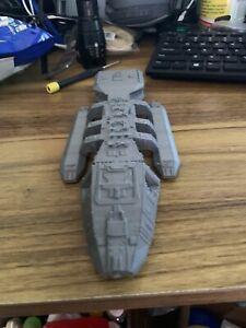 Battlestar Galactica Pegasus 3d printed   New! 8 1/2 inch
