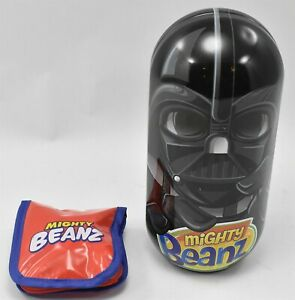 Mighty Beanz Lot Darth Vader Head Case + More 65 Beanz
