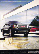 2007 GMC Sierra Dnali Truck - Legacy - Classic Vintage Advertisement Ad D90