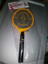 Electric paddle electronic fly, insects bug swatter zapper racket 2 Aa batteries