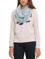 Emotional Cats All Over Print Sheer Infinity Scarf