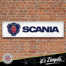 SCANIA Banner Garage Workshop Sign Printed PVC Trackside Display
