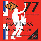 ROTOSOUND RS77S 4 STRING SHORT SCALE BASS GUITAR STRINGS MONEL FLATWOUND 40-90 for sale