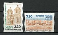 23203) France 1990 MNH New Unesco 2v Yemen Peru