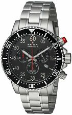 NEW Edox Chronorally-S Men's Chronograph Watch - 10227-3M-NBN