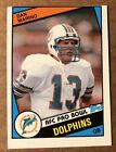 Dan Marino 1984 Topps ERROR MISCUT ROOKIE Card #123, MINT (BIGJ'S) Dolphins