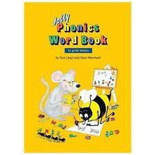 Jolly Phonics Word Book (Print Letters) by Sue Lloyd and Sara Wernham (2003,...