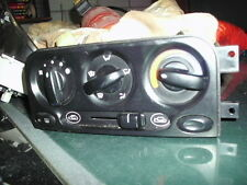 Daewoo Matiz 98-2000, heater controls, control panel, inc demist switch