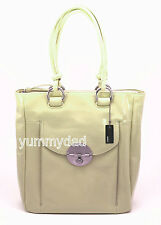 MIMCO TURNLOCK SHOPPER TOTE BAG LEMON YELLOW PATENT BNWT RRP$499