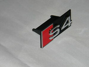 New Genuine Audi S4 Quattro Front Grille S4 Emblem 8D0853736E 2ZZ