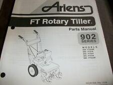ariens roto tiller 902 series,98,front tine tiller manual,illustrated parts list