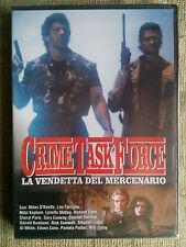 Crime Task Force la vendetta del mercenario - Lou Ferrigno - dvd nuovo sigillato