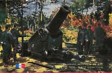 WWI, French Artillery, Cannon, 270 Howitzer, Original vintage WW1 postcard
