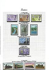 Rhodesia.  Collection of 64 stamps, 1965 to 1978, Mint