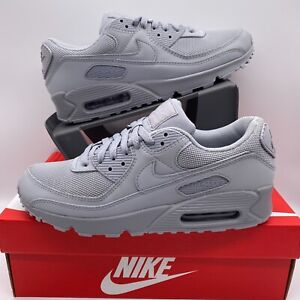 Nike Air Max 90 Gray Sneakers for Men for Sale | Authenticity ...
