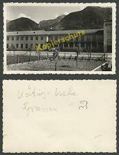 Foto VW Käfer Brezelkäfer Auto Körting-Werke Radio Grassau Chiemgau Alpen 1952!!