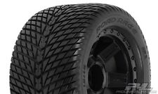 Proline road rage 3.8' street tires mounted on braqueur Black 1/2' - 1177-11