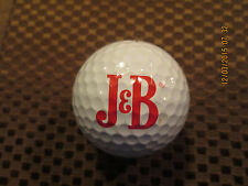 LOGO GOLF BALL-J&B SCOTCH WHISKY.......LARGE LOGO....PROV1 BALL