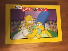TV CARTOON THE SIMPSONS BATTLE OF THE SEXES BOARD GAME IMAGINATION 2003 COMPLETE