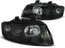 Headlights for AUDI A4 B6 00-04 Black UK RHD/LHD LPAU55-ED XINO