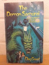 The Demon Samurai PB book by Clay Grant. Horror monster