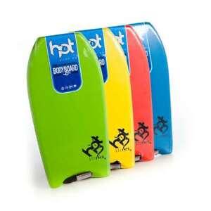 Hot Surf 69 Boardboard HDPE Slick Bottom Bodyboards inc Leash  42″ Adults Board