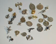 Collection of Vintage Sterling Silver Charms and More