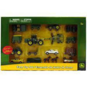 Tomy John Deere Farm Toy Set